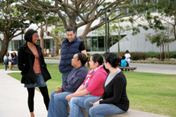 Students at CSUDH