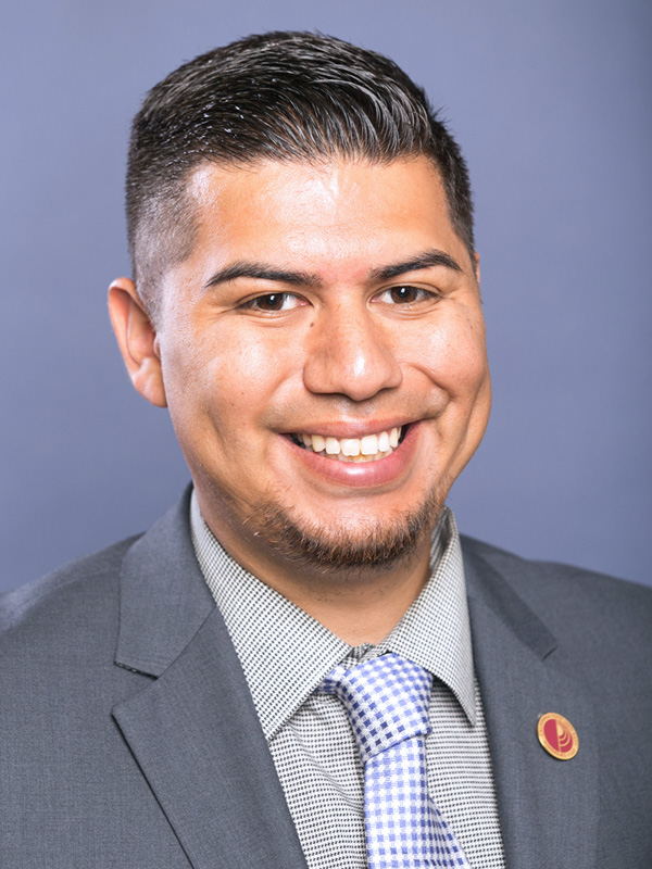headshot of David Gamboa