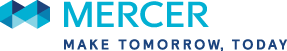 Mercer Logo and tagline: Make Tomorrow, Today