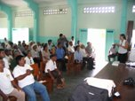 Dr. Gasco meeting with Soconusco farmers