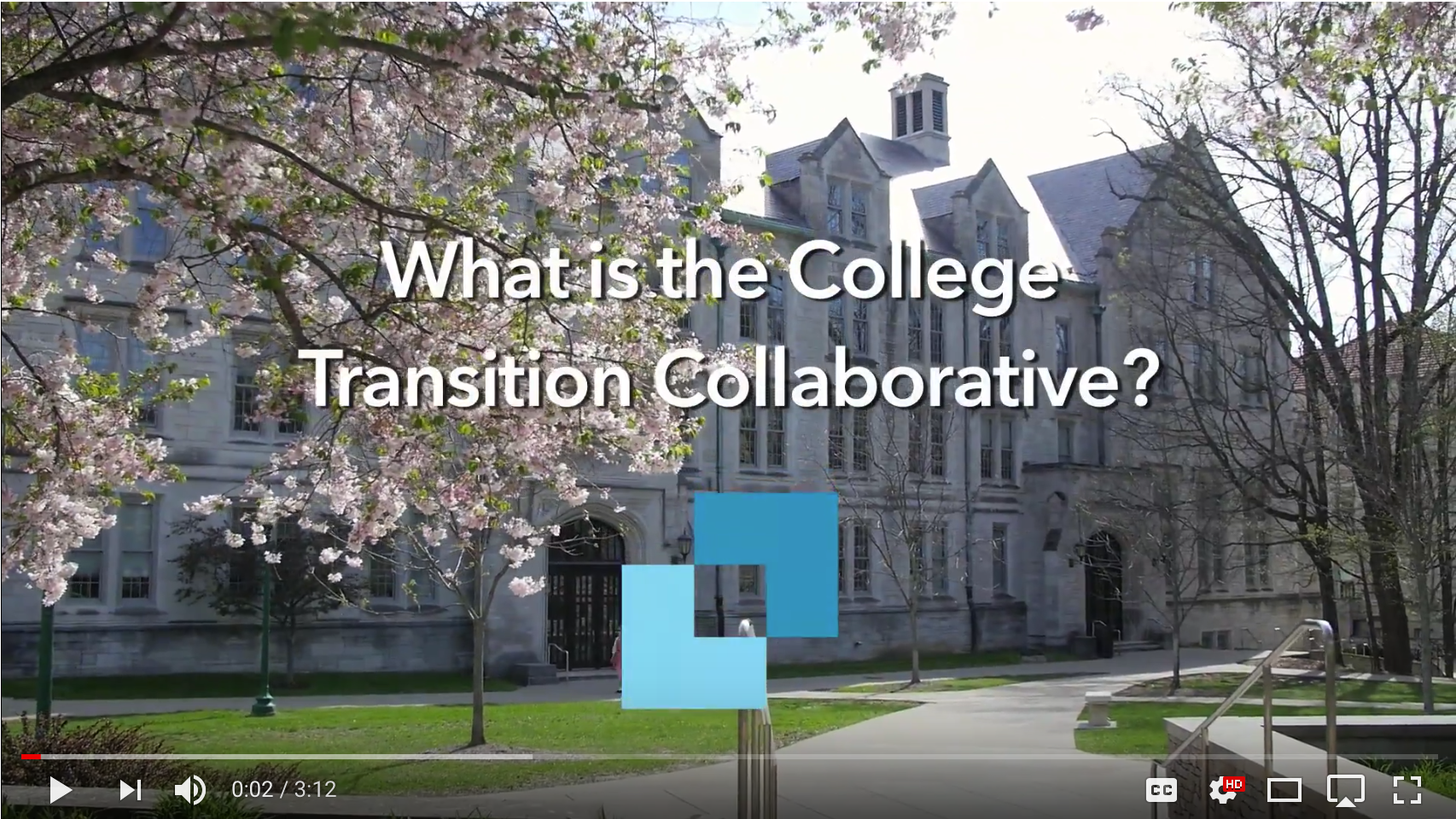 What is the College Transition Collaborative?