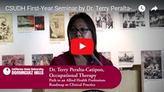 CSUDH First-Year Seminar by Dr. Terry Peralta-Catipon