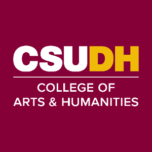 CSUDH endorsed social media icon for College of Arts and Humanities