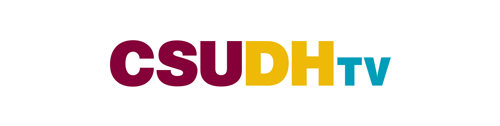CSUDH co-branded logo example. DHTV.