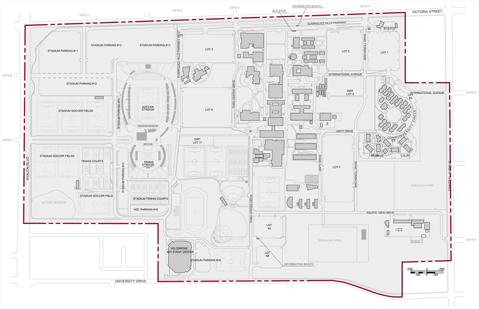 Campus Boundary Map