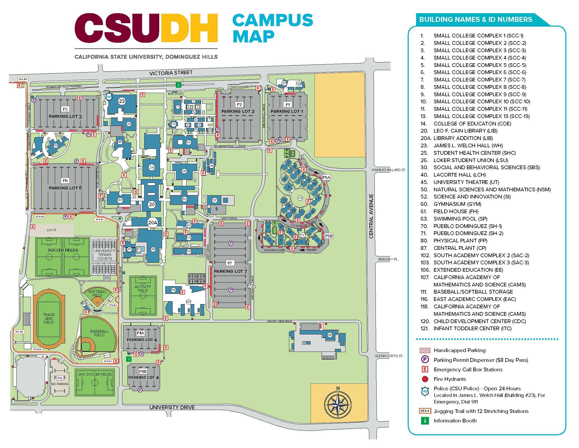 Campus Map - Cal map