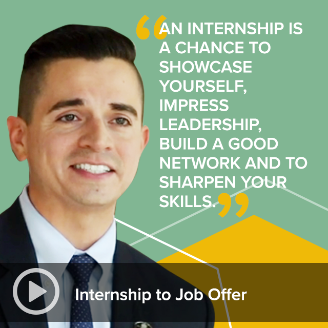 Career Spot Videos - Internship to Job Offer