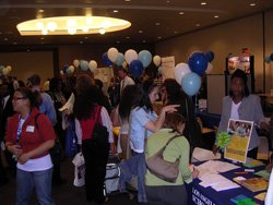 Students and Employers at Job Fair