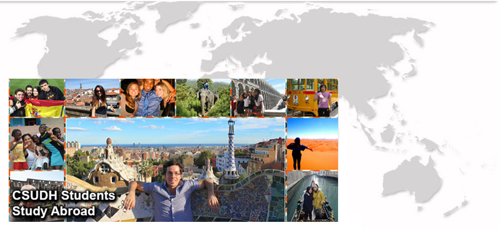 CSUDH students study abroad