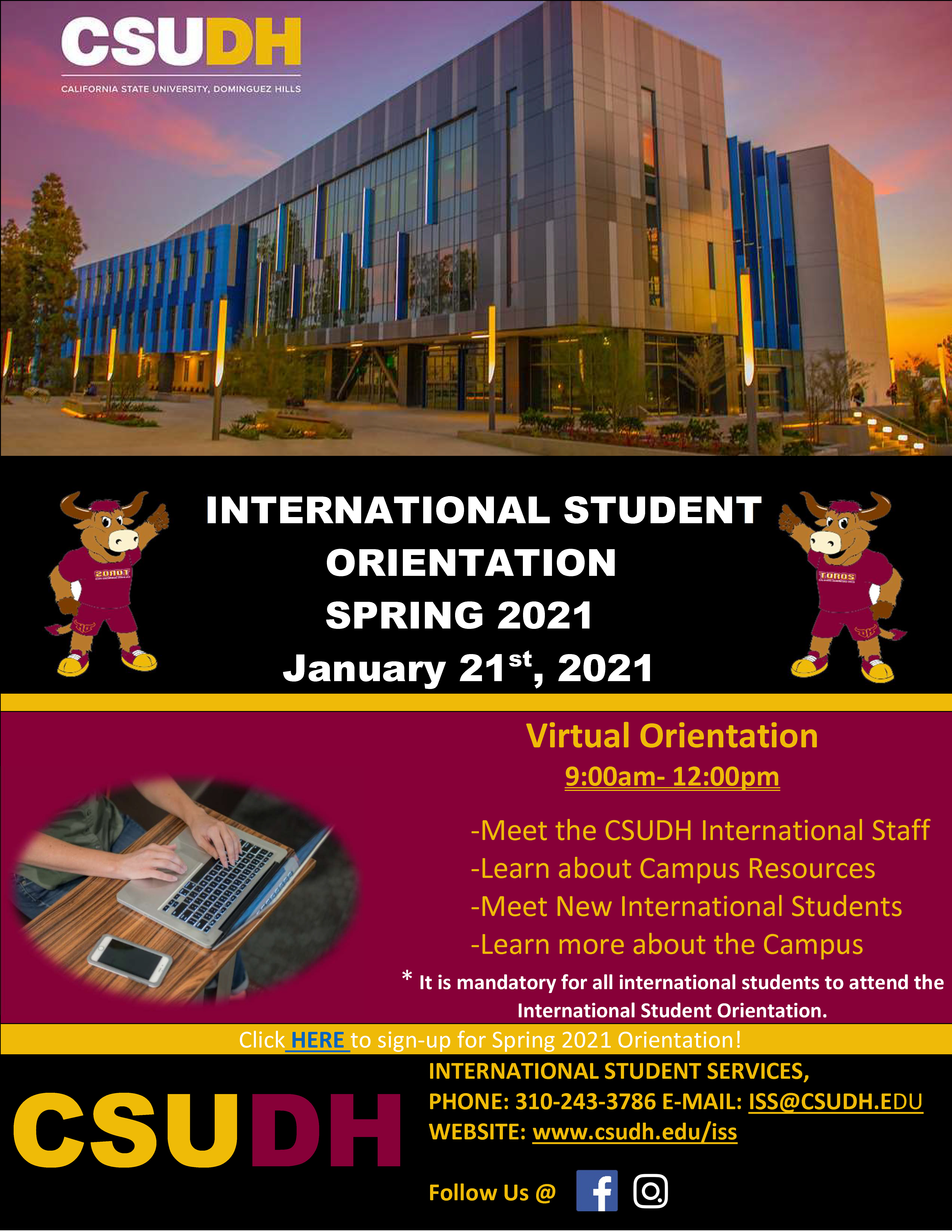 ISS Orientation Flyer-Spring 2021
