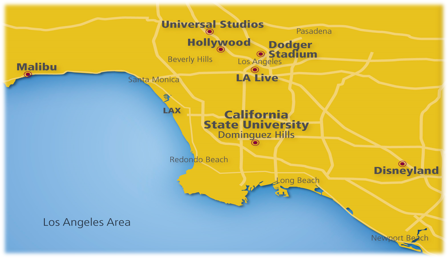 Bad Areas Of Los Angeles Map.Location And Climate Csudh Ceie International Carson Ca