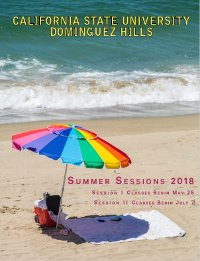 Summer Sessions at CSUDH Catalog