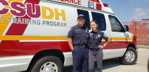 CSUDH EMT Training- EMTs at Info Session