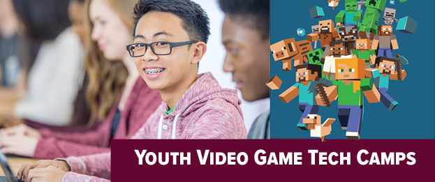 Youth Video Game Tech Camps