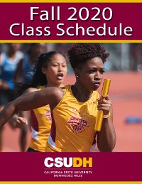 Fall 2020 Class Schedule Cover
