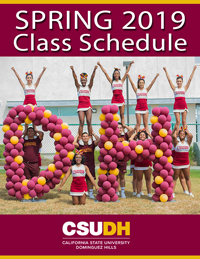 Spring 2016 Class Schedule Cover
