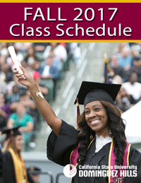 Fall 2017 Class Schedule Cover