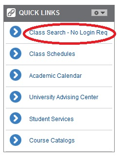 My Class Search