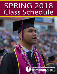 Spring 2018 Class Schedule Cover