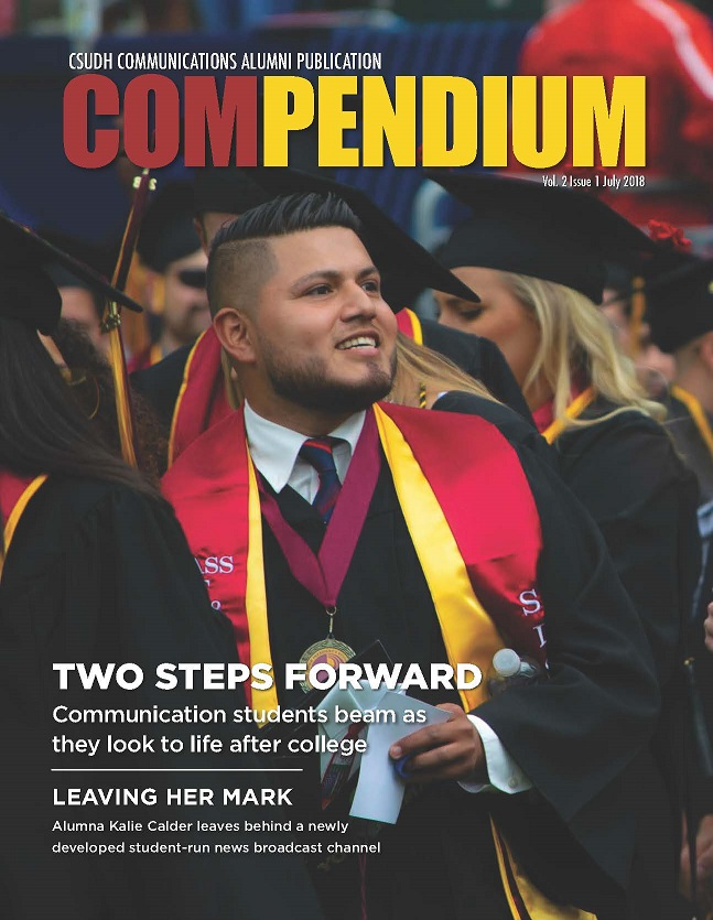 Compendium Cover 2018 Volume 2/Issue 1/July 2018 CSUDH Communications Department
