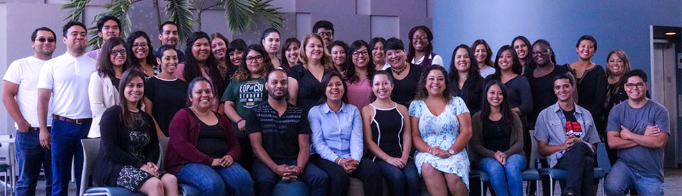 CSUDH students, faculty, and administrators participating in Undocumented Student Ally Coalition's 2nd Annual Retreat