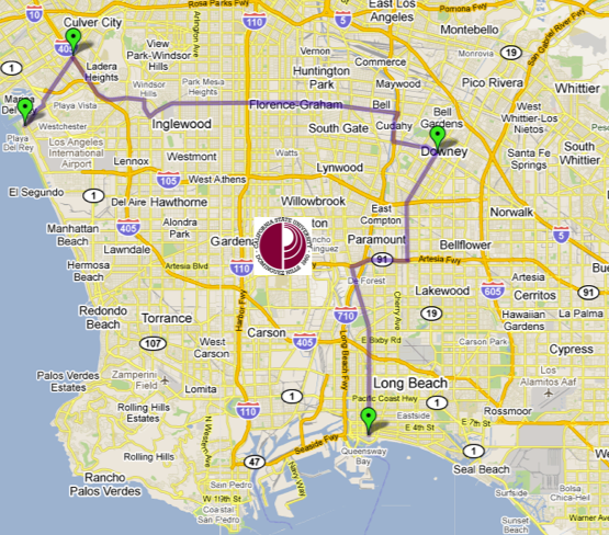Dominguez Hills Map - New Car Release Date and Review 2018 ...
