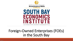 Foreign-Owned Enterprises in the South Bay