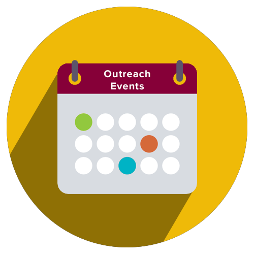 Outreach Events Icon