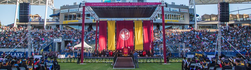 Graduation at CSUDH