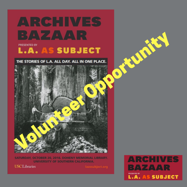 L.A. as Subject Archives Bazaar 2018