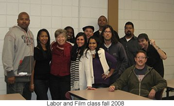 Film and Labor Studies class of 2008