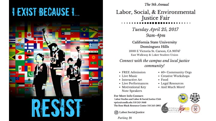 9th annual Labor Social Environmental Justice Fair