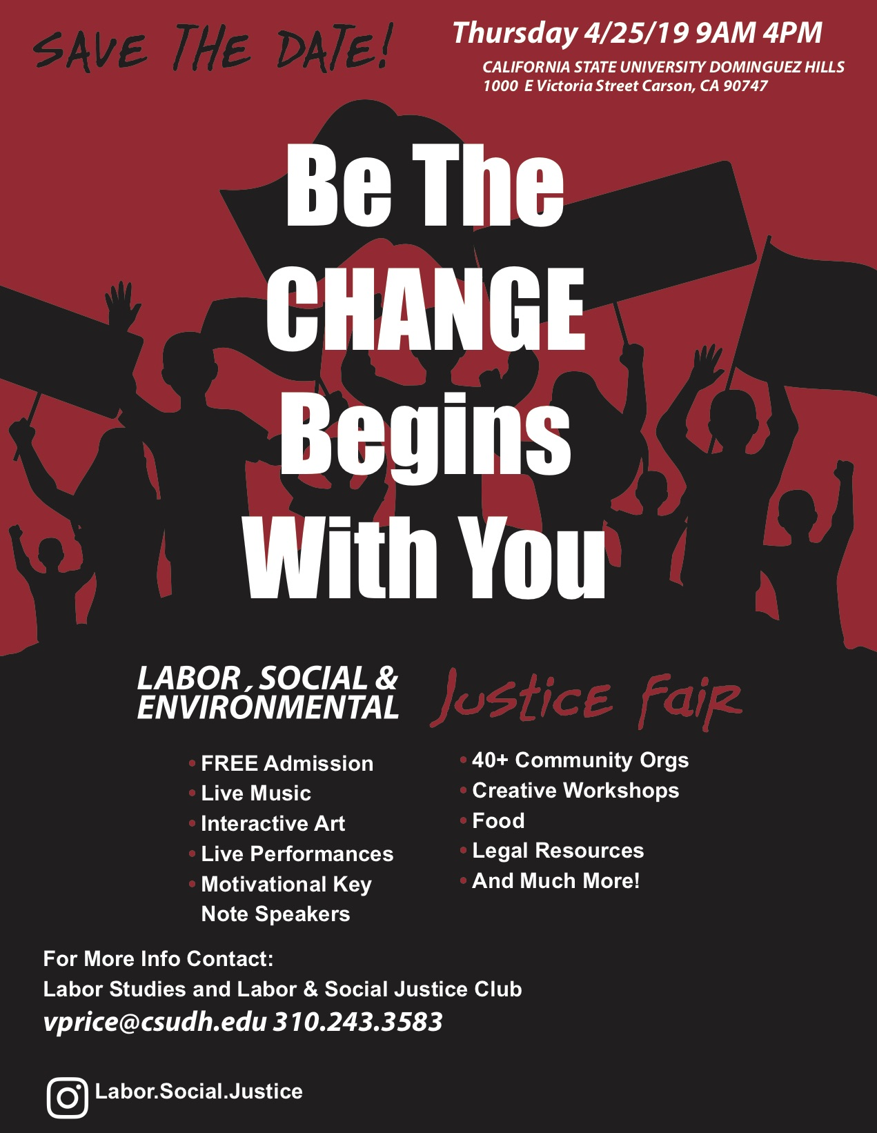 Labor Studies CSUDH Labor Fair 2019