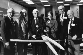 Ribbon Cutting Opening of the CSU Archives, 1979