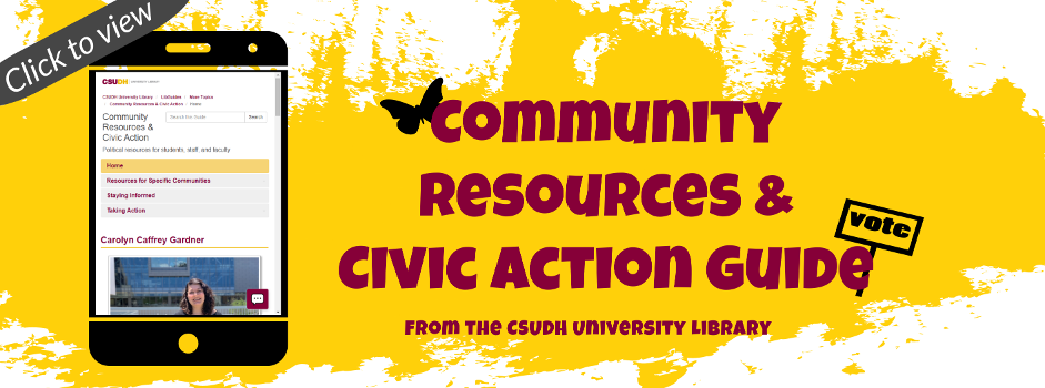 Click to view our Community Resources and Civic Action Guide!