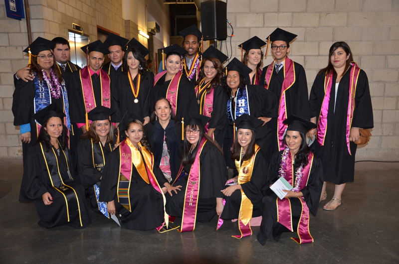 Congratulations to the Class of 2013 B.A. in Spanish Majors