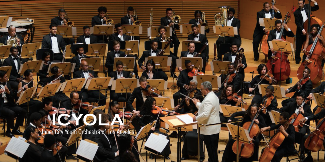 ICYOLA (The Inner City Youth Orchestra of Los Angeles) Music Department CSUDH