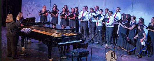 Choir at Steinway
