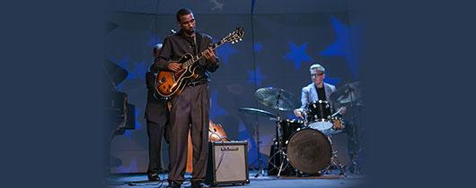 Summer Steinway by Starlight: Jazz Ensemble Guitarist Chad Morris