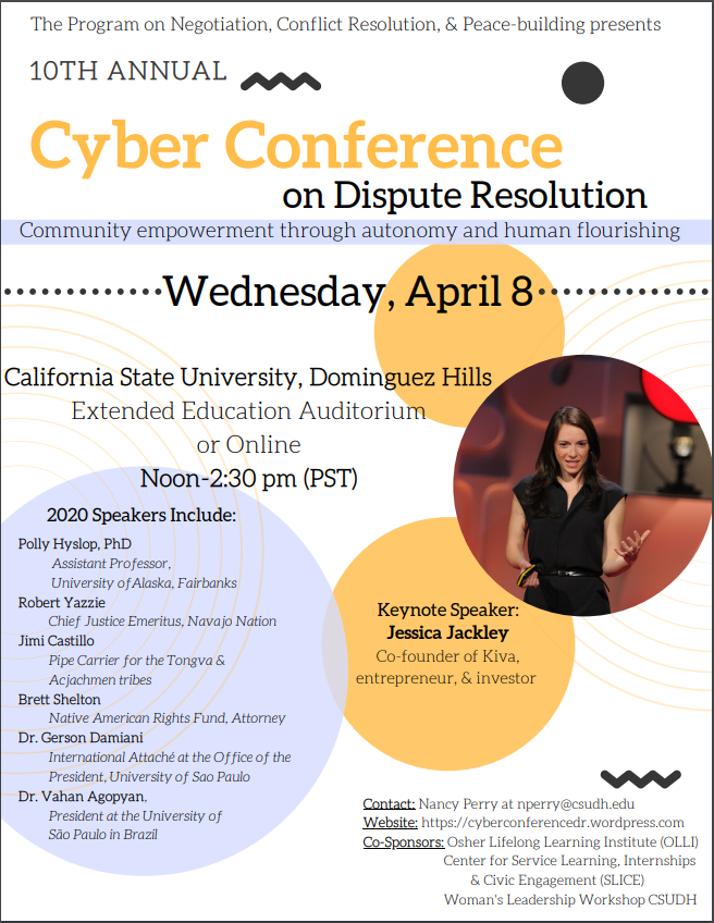10th Annual International Cyber-Conference on Dispute Resolution