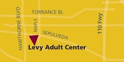 Levy Adult Center Map