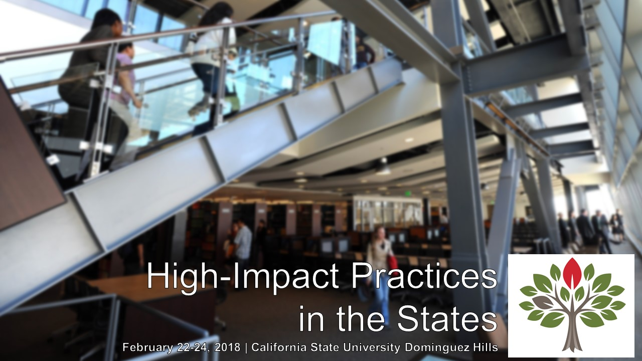 High Impact Practices in the States Conference Flyer