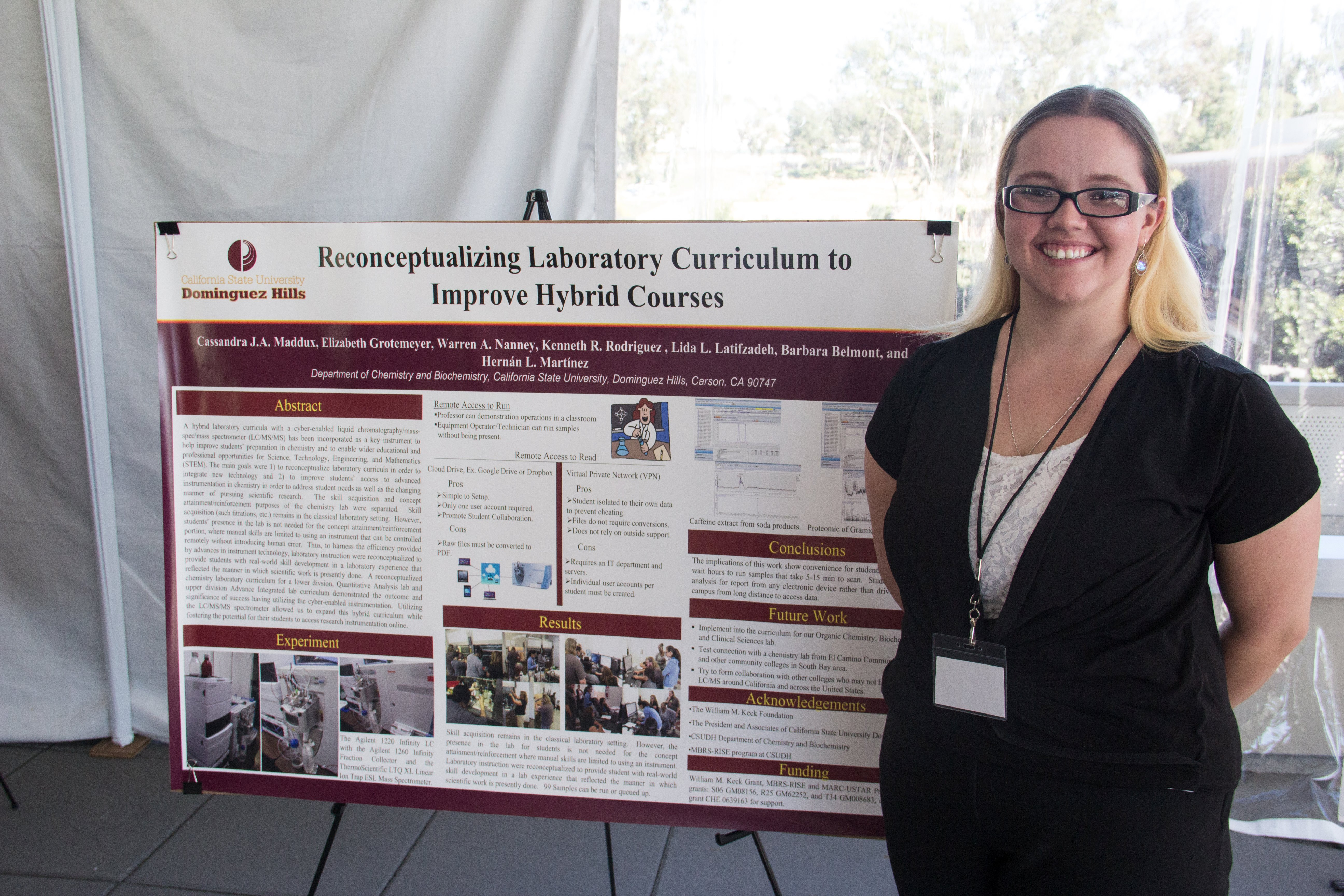 Student Research Day- Cassandra Maddux