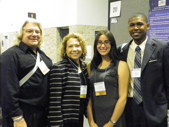 SACNAS 2010- Students with President Garcia