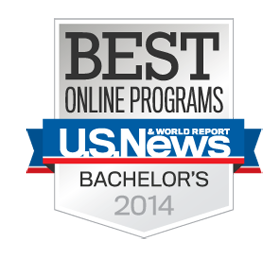 U.S. News Best Online Bachelor's Programs for 2014