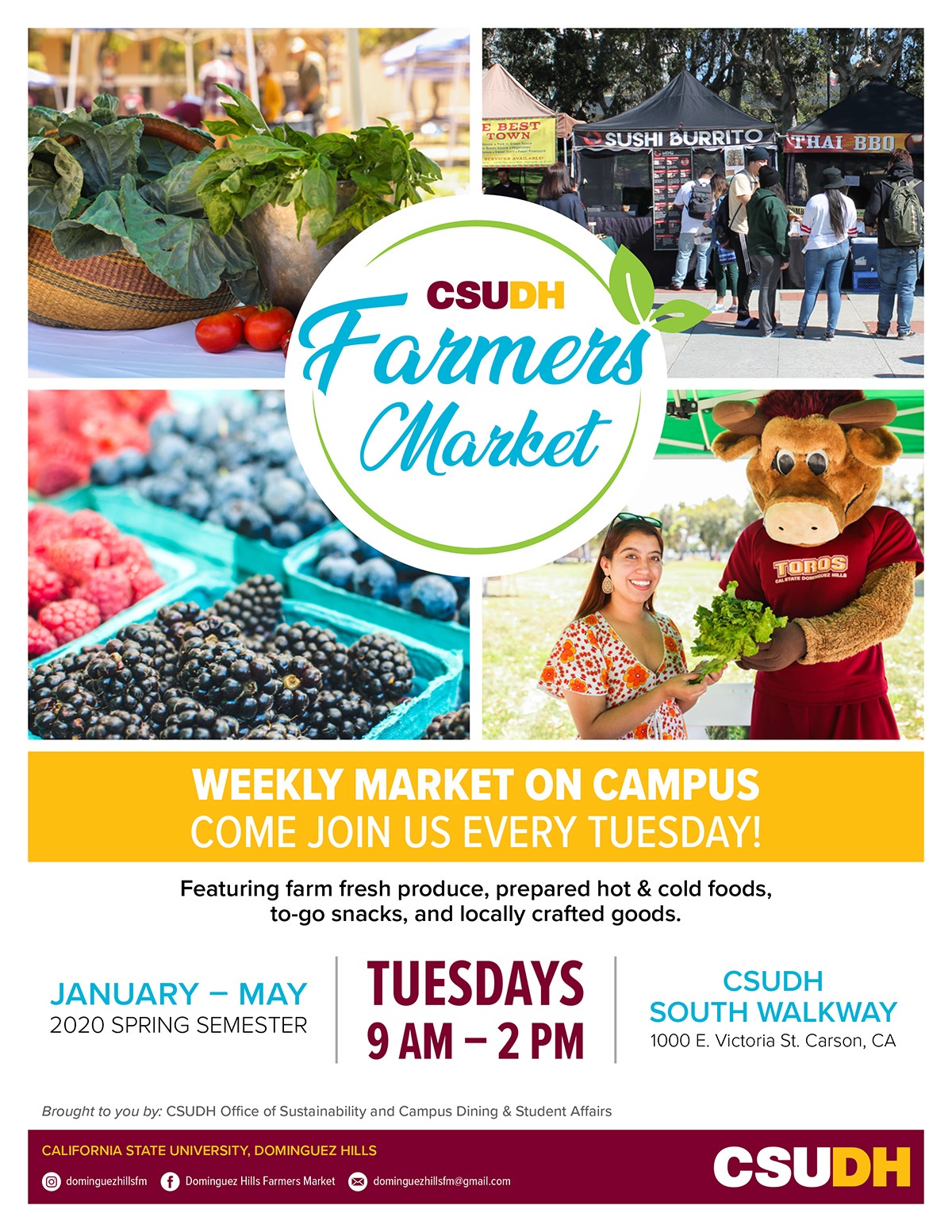 [Click to download] Spring 2020 Farmers Market Flyer