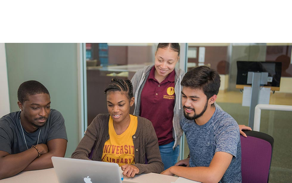 CSUDH Students Looking at Job Opportunities