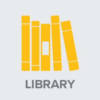 Icon of library