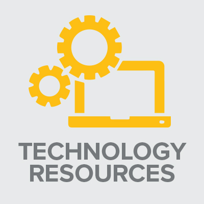 Icon of Technology resources